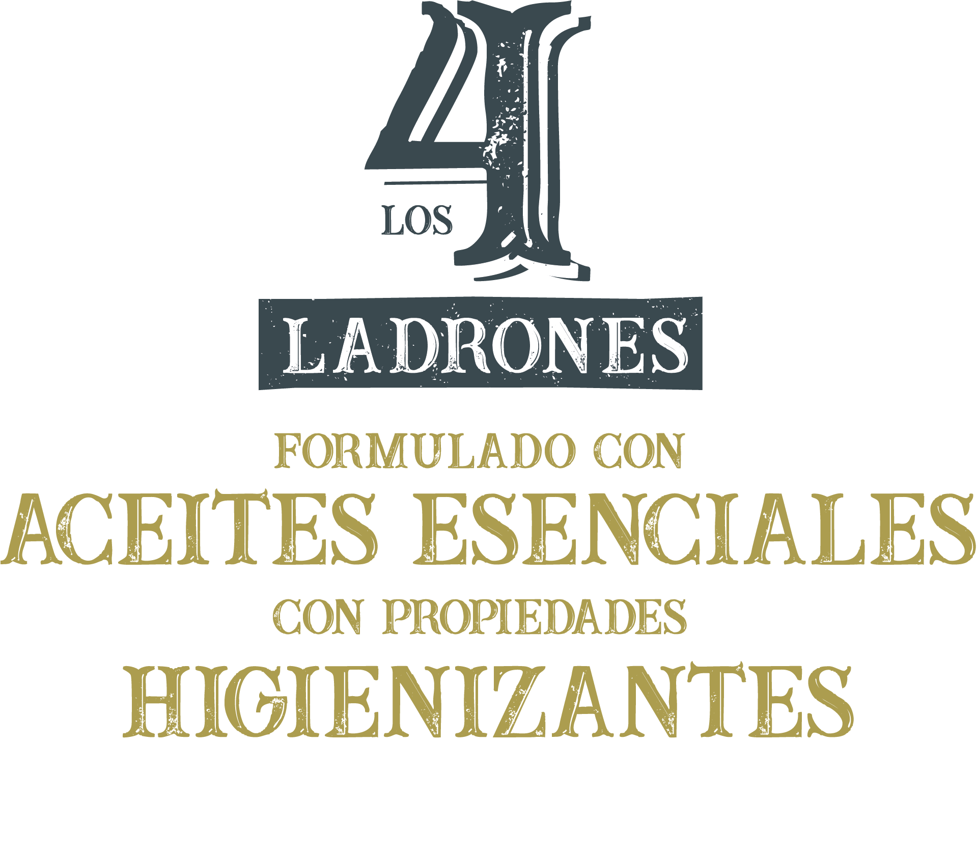 Logotipo de la línea Los 4 Ladrones