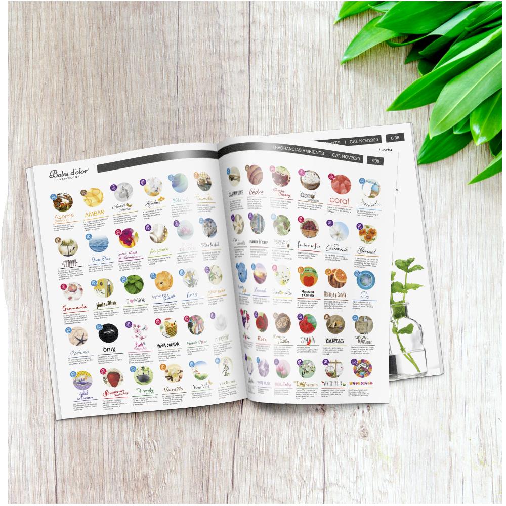 Catálogo de Boles d'olor